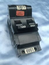 FEDERAL PACIFIC /AMERICAN Bolt On  NB2100 100 AMP 2 POLE TYPE NB CIRCUIT BREAKER