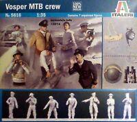 Italeri 1/35 Boat Crew Figures New Plastic Model Kit 1 35