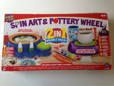 Spin Art & Pottery Wheel 2 in 1 Double Park Made by Me