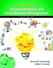 Essentials of Entrepreneurship and Small Business Management by Thomas Zimmerer,