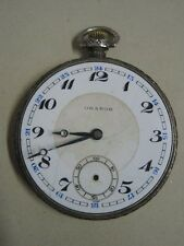 Orator made in Switzerland Antique Pocket watch in silver