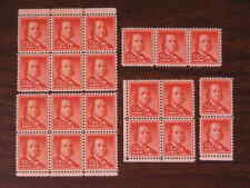 United States Sc # 1030a  1/2c   Lot of 21 Stamps in multiples   MNH 1958  s110
