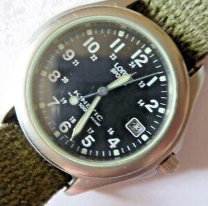 Gent's Lorus Sports Kinetic Water 100m Resist Wristwatch