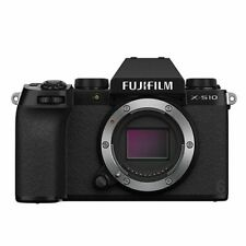 A - Fujifilm X-S10 Digital Mirrorless Camera Body