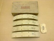 "Duron Brake Linings & Rivets Front 14,3/8"" x 2"" Bedford Truck Lorry Van Bus Car"