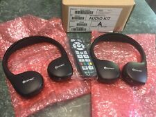 UConnect Chrysler Jeep Dodge Audio Kit Headphones and remote 05091246AA 07-18