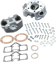 """S & S Cycle 3-5/8"""" Bore Super Stock Cylinder Heads (Band Intake) 90-1499"""