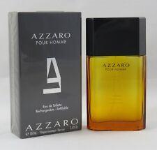 Azzaro Pour Homme 100 ml Eau de Toilette Spray Nachfüllbar
