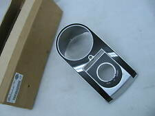 Harley Davidson Satin Chrome Instrument Panel Console 71257-11 Softail 71273-00A