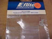 E-FLITE HELICOPTER PART - EFLH1066 = REPLACEMENT SERVO UNIT : BMCX / MSR  (NEW)