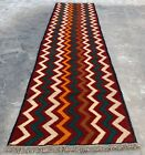 Authentic Hand Knotted Afghan Nokaar Balouch Wool Area Runner 9 x 2 Ft