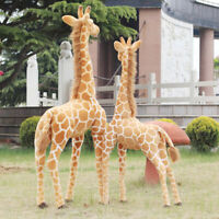 "70CM 27.5"" Big Plush Giraffe Toy Giant Large Stuffed Cute Animal Doll Kids Gift"