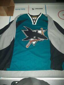 San Jose Sharks teal jersey XXL NHL
