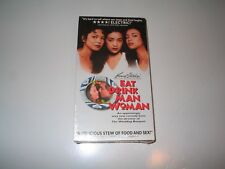 NEW Eat Drink Man Woman VHS Video Sihung Lung Kuei-Mei Yang