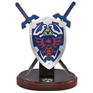 The Legend of Zelda Shield 2 Mini Swords Letter Opener Display Link Master Sword