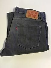 Levi's 511 Skinny Jeans Men's Gray 33x32 Denim Slim