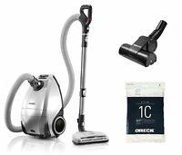 ORECK Venture Pet Multi Floor Bagged Canister Vacuum Cleaner Carpet Hard Floor