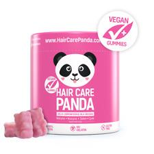 HAIR CARE PANDA zdrowe żelki dla vegan na gęste mocne włosy 5000% biotyny