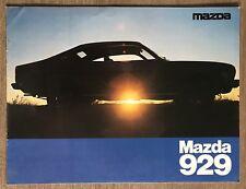 1976 Mazda 929 original sales brochure