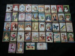 VINTAGE COLES SWAP CARDS - BULK LOT OF 106 CARDS