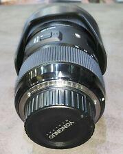 Sigma Digital Camera Lens 18-35mm 1:1.8 Dc 072 Af/Mf Fits Nikon D7500 W/Hood