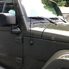 "TERRAIN SHORT 13"" Flexible Rubber AM FM Antenna For 2007-2017 Jeep Wrangler JK"