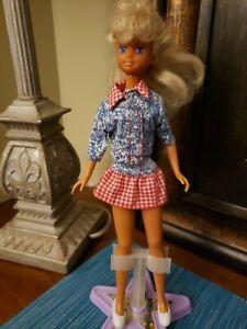 Vintage 1987 Mattel Barbie Sister Teen Skipper Doll