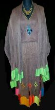 Ethiopian/Habesha/Eritrean traditional cotton dress. Size M/L