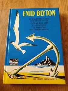 Enid Blyton Recueil 3 Histoires Hachette 1966