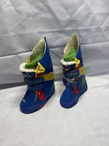 Vintage Fisher-Price Baby Toddler Boy/GirlWaterproof Snow Boots Size 6