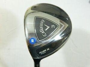 New LH Callaway RAZR X Black 15* 3 Fairway Wood Regular flex Graphite