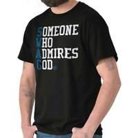 Swag Someone Who Admires God Christian Gift Short Sleeve T-Shirt Tees Tshirts