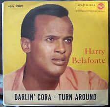 Harry Belafonte – Darlin' Cora  45 giri 1959 EX/EX++