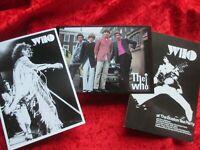 THE WHO  UK  3 diff Postcards Postkarten