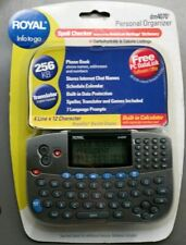 Royal DM4070 Personal Organizer w/ Spelling Checker Translator Calculator 256 KB