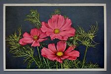 R&L Postcard: Beautiful Cosmea Flower Design, Switzerland, Natural History