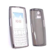 Custodia in silicone TPU trasparente per Nokia X2-02, Colore: Nero