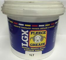 Lanolin Fleece Grease 1ltr Tub (M843)