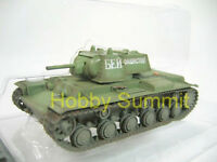 1/72 Russian Army WWII  KV-1 1941 Tank  Soviet Green Finished Plastic Model