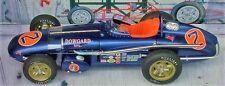 Ford 1960 Indy GP F 1 Race Car Vintage Antique 18 Metal Model 24 Racer 43 T 12 A