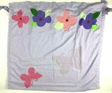 Disney Curtain Drape Lavender Polka Dot Floral Butterfly 42in X 84in Girls Room