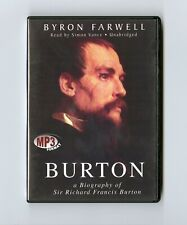 Burton: A Biography of Sir Richard Frances Burton - MP3CD - Audiobook