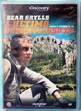 BEAR GRYLLS - L'ULTIMO SOPRAVVISSUTO - SERIE 3 EP.11-12 - DVD N.02046