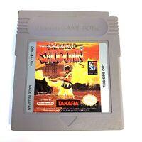 Samurai Shodown ORIGINAL NINTENDO GAMEBOY GAME Tested WORKING Authentic!