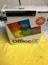 New Microsoft Office 97 Professional Edition - Full Version  Sealed Retail Box