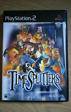 Time Splitters - Game - Sony PlayStation 2 - PS2 - Complete-Very Good Condition
