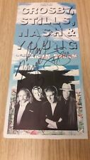 Crosby, Stills, Nash & Young American Dream Signed/Autographed Card