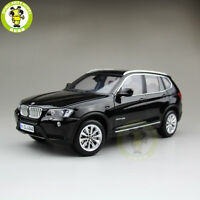 1/18 BMW X3 F25 xDrive 35i RMZ MODEL Diecast Model Car SUV Black