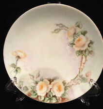 "Antique Thomas "" Sevres""  Bavarian Yellow Rose 7"" Round Plate"