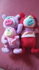 Sing-A-Ma-Jig Fisher Price Mattel Singing Duet Dolls Purple Mom & Baby Red 2010